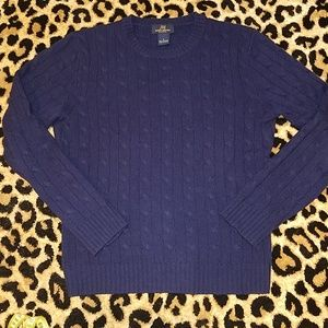 Brooks Brothers Cashmere Cableknit Sweater